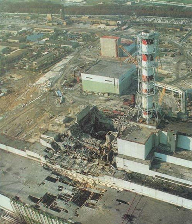 Чернобыль - наш тяжкий крест на многие века и тысячелетия...